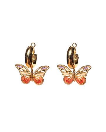 Mignonne Gavigan Butterfly Dangle Earrings