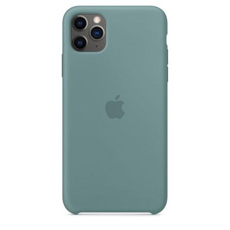 iPhone 11 Pro Max Silicone Case - Cactus - Apple