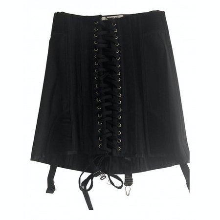 Mini skirt Orseund Iris Black size S International in Cotton - 12267165
