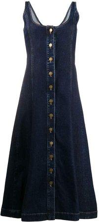 Denim A-Line Dress