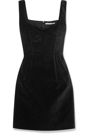 Emilia Wickstead   Judita cotton-velvet mini dress   NET-A-PORTER.COM