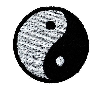Yin-Yang Iron on Patch