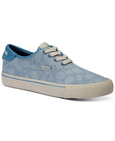 blue COACH Women's Citysole Skate Lace-Up Sneakers & Reviews - Athletic Shoes & Sneakers - Shoes - Macy's