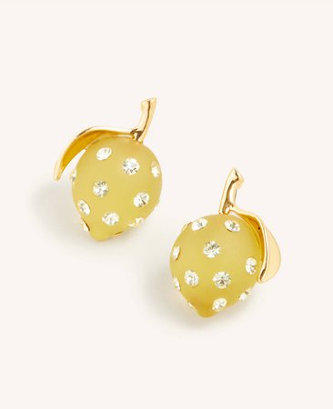 Lemon Stud Earrings | Ann Taylor