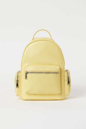 Small Backpack - Yellow