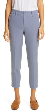 Soft Tailored Crop Trousers