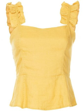 Suboo Biscay Ruffled Bodice Top
