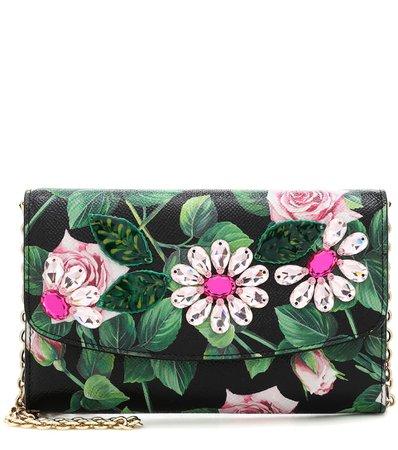Clutch Portafoglio A Stampa In Pelle   Dolce & Gabbana - Mytheresa