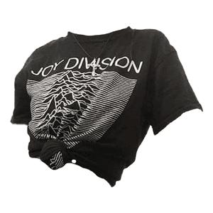 Joy Division Top PNG Shirt