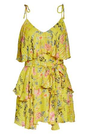 Hemant & Nandita Cover-Up Minidress | Nordstrom