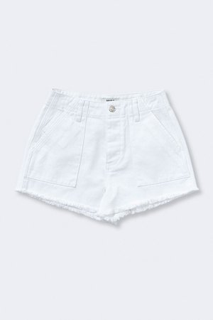 Frayed Denim Shorts | Forever 21