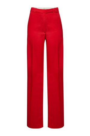 Golden Goose - Carrie Wide Leg Pants - red