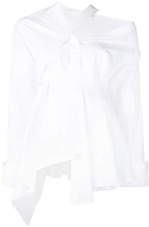 Palmer / Harding deconstructed asymmetric shirt