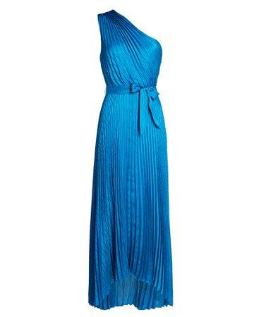 INTERMIX Private Label Luisa Pleated Midi Dress | INTERMIX®