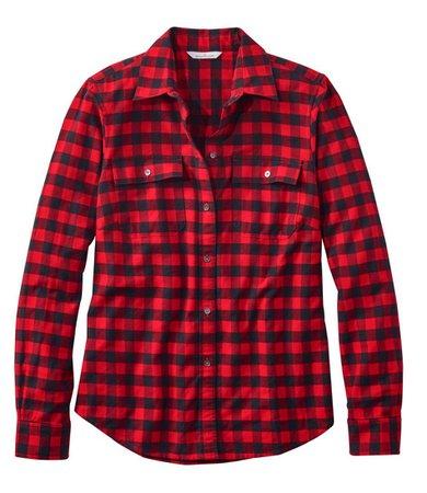 Women's Signature Lightweight Flannel Shirt, Plaid