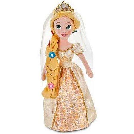 Rapunzel Plushie Doll