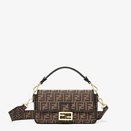 Brown fabric bag - BAGUETTE   Fendi