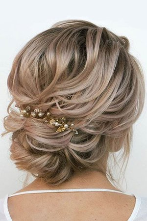 Women's updo hairstyle 2019
