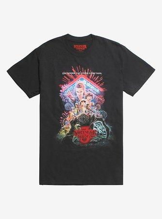 Stranger Things Season 3 Poster T-Shirt