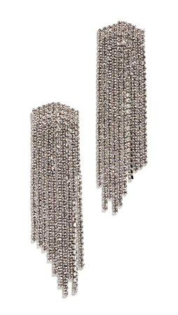 Stella + Ruby Silver Crystal Earrings | SHOPBOP