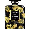 Chanel Perfume, Tropical Beige Mixed Media by Green Palace