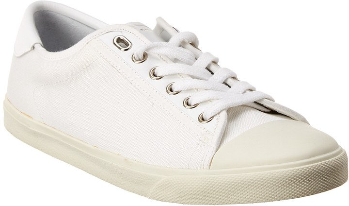 Low-Top Canvas Sneaker