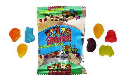 Scooby doo fruit snacks