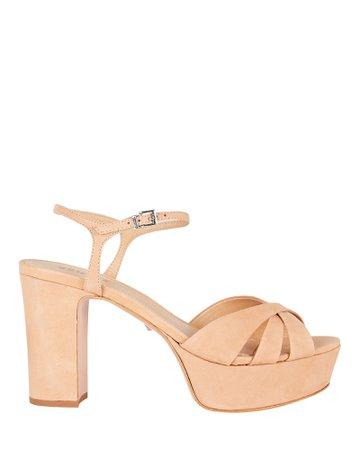 Schutz Keefa Suede Platform Sandals | INTERMIX®