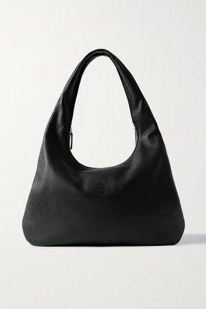 Everyday Medium Textured-leather Shoulder Bag - Black