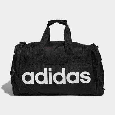 adidas black workout bag