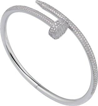 CRN6707317 - Bracelet Juste un Clou - Or gris, diamants - Cartier