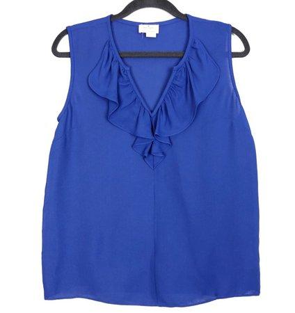 Kate Spade Blue Sleeveless Top