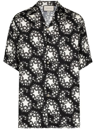 Gucci Star Print Shirt - Farfetch