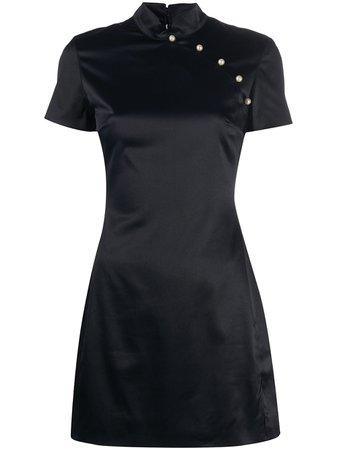 Alexa Chung Mandarin Mini Dress - Farfetch
