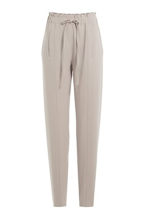 Tapered Pants with Drawstring Waist Gr. DE 32