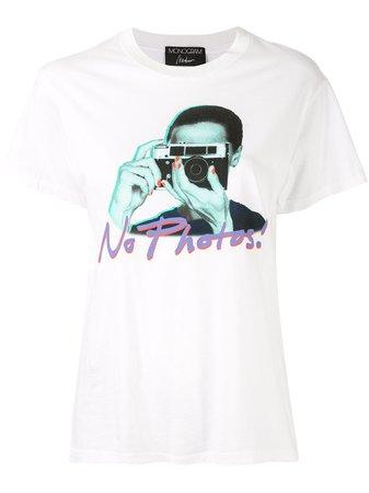 Monogram No Photos-Print T-Shirt Ss20 | Farfetch.com