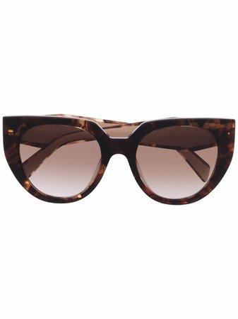 Prada Eyewear cat-eye Frame Sunglasses - Farfetch