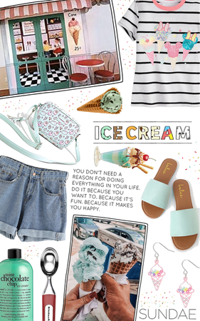 ice cream Outfit | ShopLook