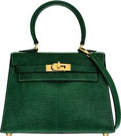 Hermes green bag