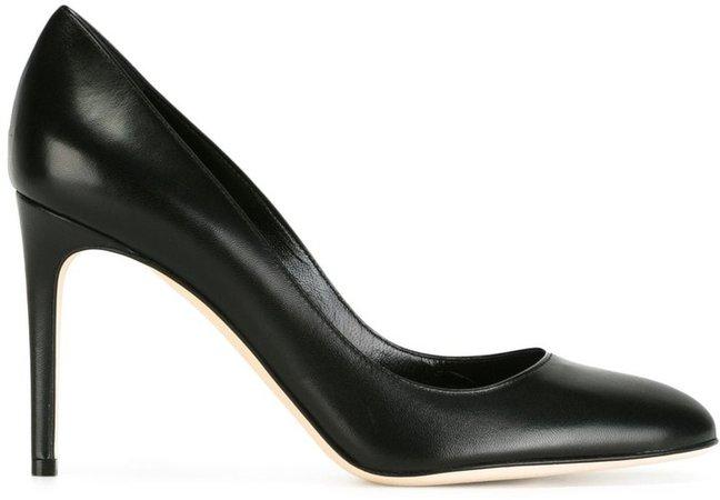 Court high-heel pumps