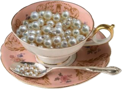Teacup of Pearls png