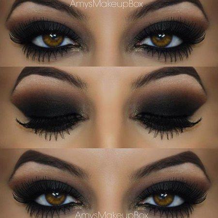 Black Eyeshadow Look