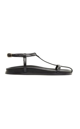 Shin Leather Sandals By St. Agni   Moda Operandi