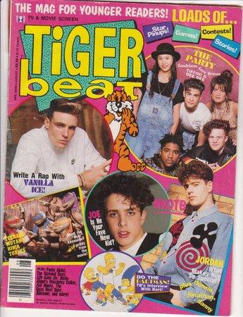 Tiger Beat August 1992 Magazine