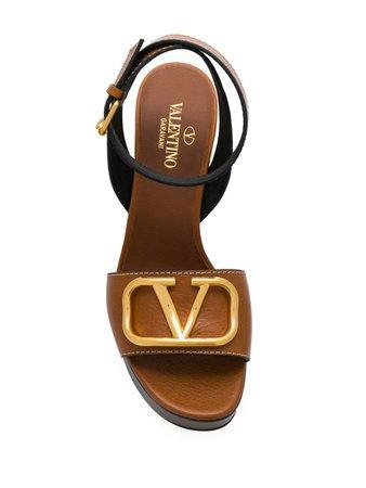 Valentino Valentino Garavani VLOGO sandals $585 - Buy Online SS19 - Quick Shipping, Price