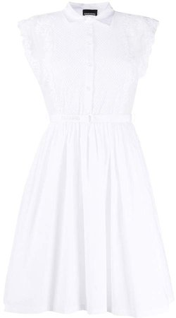 Ermanno Ermanno Sleeveless Shirt Dress