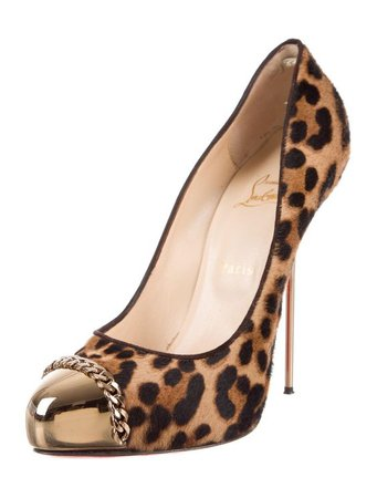 Christian Louboutin Leopard Pumps