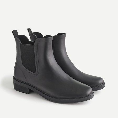 J.Crew: Chelsea Matte Rain Boots For Women