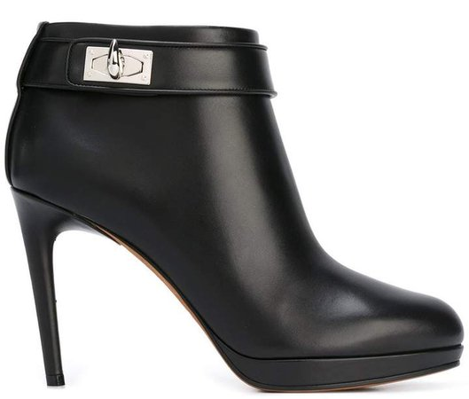 'Shark Tooth' ankle boots
