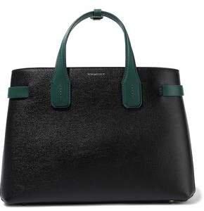 Medium Textured-leather Tote